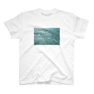 しゅわしゅわした海 T-shirts
