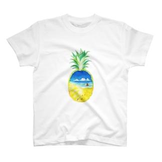 ぱいなっぷるSummer T-shirts