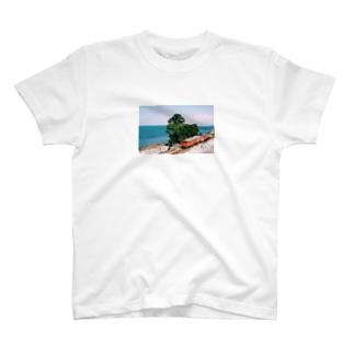 フォトT〜雨晴海岸〜 T-shirts