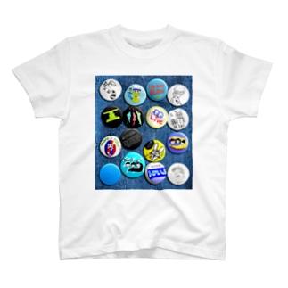 ドラいぶ缶バッジ集 T-shirts