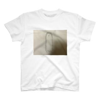 二足歩行を覚えたハリネズミ T-shirts