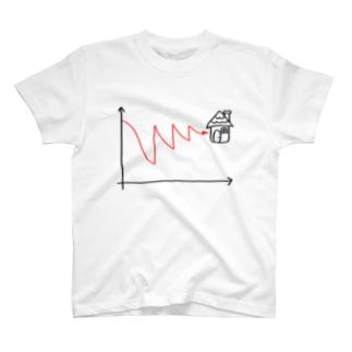エビングハウスへの案内曲線 T-shirts