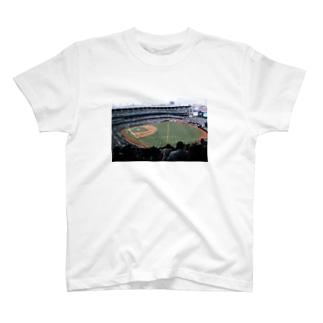 前面①YANKEE STADIUM T-shirts