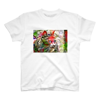 ねこ(夢) T-shirts