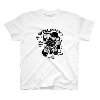 キャッチャー災難Tシャツ T-shirts