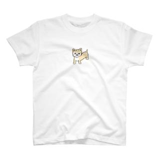 チワワえん(フォーン&ホワイト) T-shirts