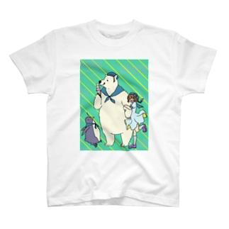 水兵さんのアイス T-shirts