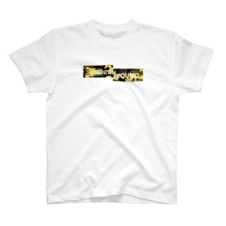 アングラ黄色迷彩 T-shirts