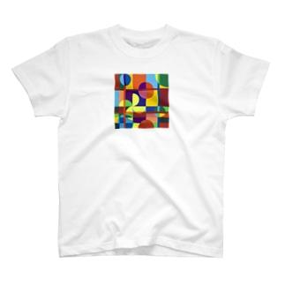 面の分断 T-shirts