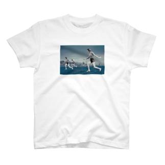 ツイテルネ、ノッテルネ T-shirts