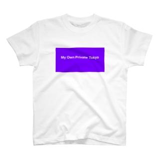 JH / M.O.P.T パープル T-shirts