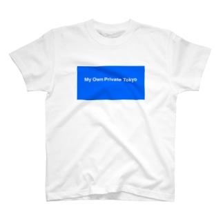 JH / M.O.P.T ブルー T-shirts