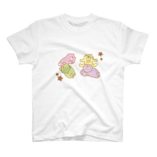 くまのくまちゃん T-shirts