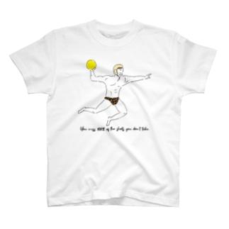 水球 打たなければ100%入らない T-shirts