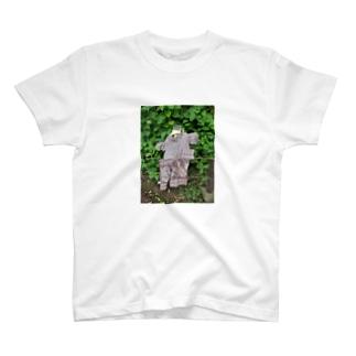 グリッチ雨合羽 T-shirts