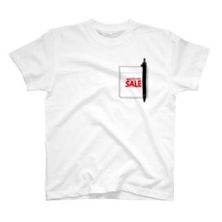 SALE MAX99%OFF pocket T-shirts
