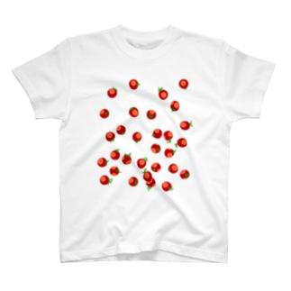 いっぱい🍅とまとまトマト T-shirts
