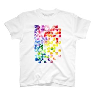 虹色硝子 T-shirts