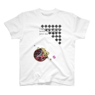 アリス 英文入り T-shirts