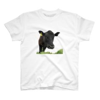 フレンドリーなウシ T-shirts