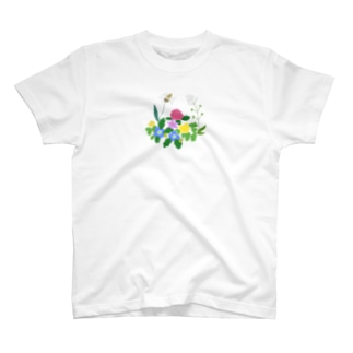 のはらの雑草たち T-shirts