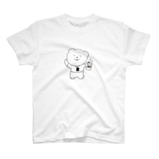 ビアベアちゃん🐻🍺 T-shirts