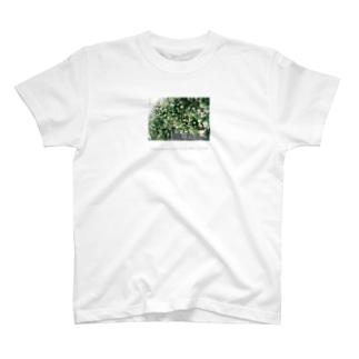 木陰でやすむ さんにん T-shirts