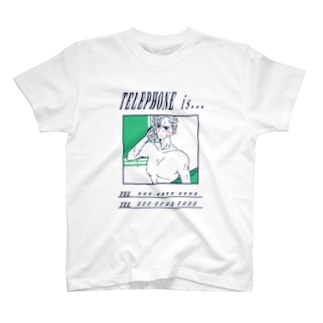 電話の相手(素直になれなくて編) T-shirts