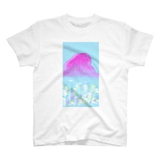 RimiのPinkCloud T-shirts