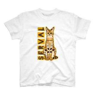 サーバルキャット T-Shirt