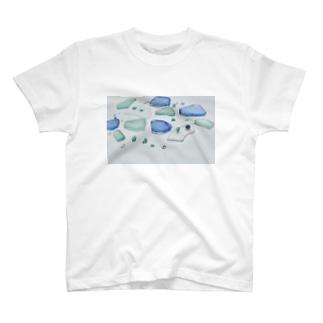 ビーチグラス T-shirts