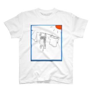 洗濯ねこ T-shirts