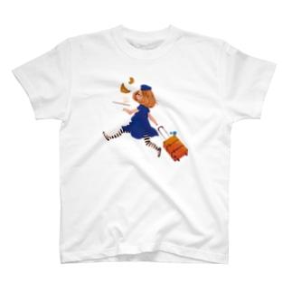 エアラインガール T-shirts