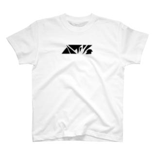ハイツ(黒文字) T-shirts