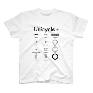 Unicycle T-shirts
