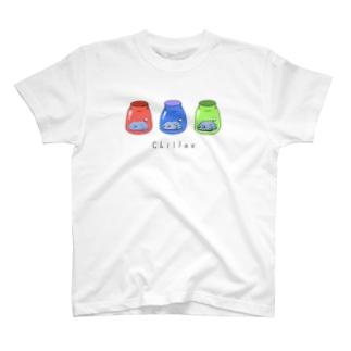 すりーびんくんずB T-shirts