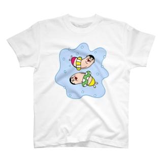 サマーな、おじさん T-shirts