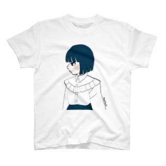 青髪ちゃん T-shirts