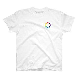 COLOR-CIRCLE T-shirts