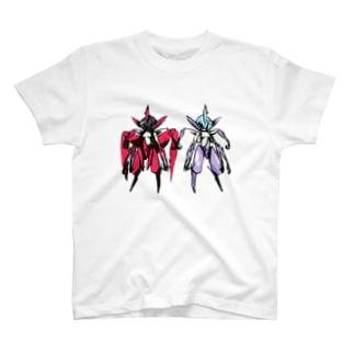 レッドVSブルー T-shirts