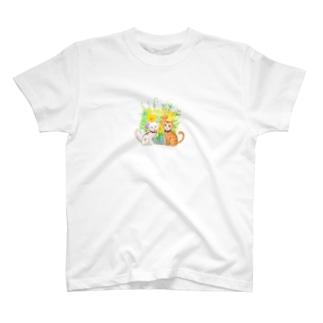 ちゃんでぃちゃんたち★ T-shirts