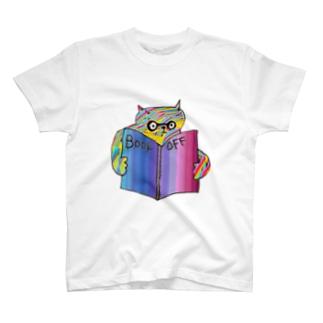 角度がおかしいネコ(ピカソ風) T-shirts