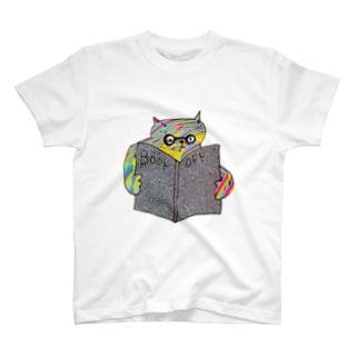 角度がおかしいネコ(ERROR) T-shirts