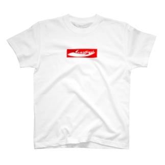 クワソウル【Kuwasoul】赤ロゴ T-shirts