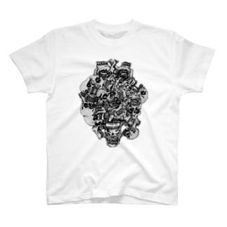 ACID_SKULL T-shirts