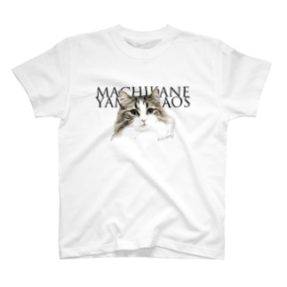 『アンティークな猫』柄 T-shirts