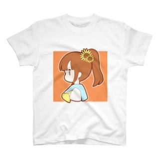 ひまわりポニテちゃん T-shirts