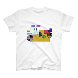ざっしゅいぬ T-shirts