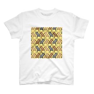 猫パターン T-shirts