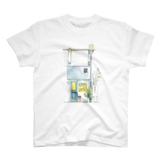 STUDIO T&Y北口の水彩画 T-shirts